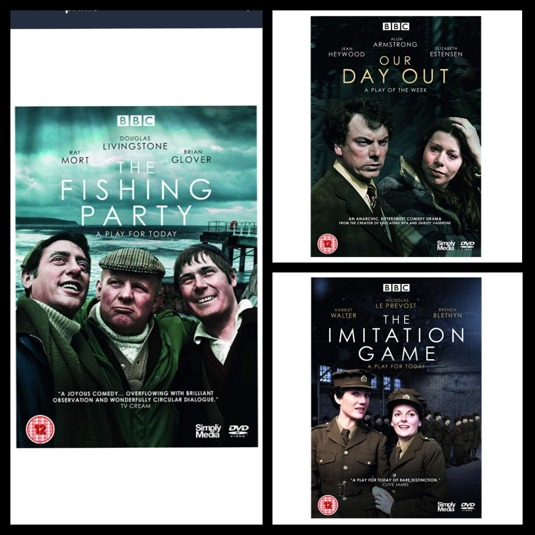 Start your week with a RT (and make sure that you&#39;re following us) for a chance to #win these 3 new &#39;BBC Play for Today&#39; DVD&#39;s courtesy of @simplymediatv #competition #giveaway<br>http://pic.twitter.com/T7zrjhrhll