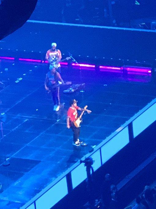 Bruno Mars was unreal tonight. Happy Birthday to