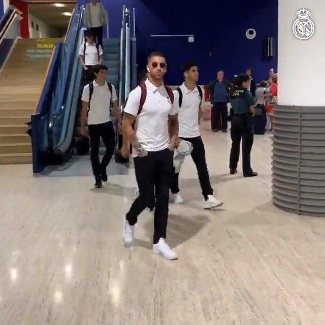 �� ¡Ya estamos en Sevilla! #RMLiga https://t.co/ZsEukFCxbP