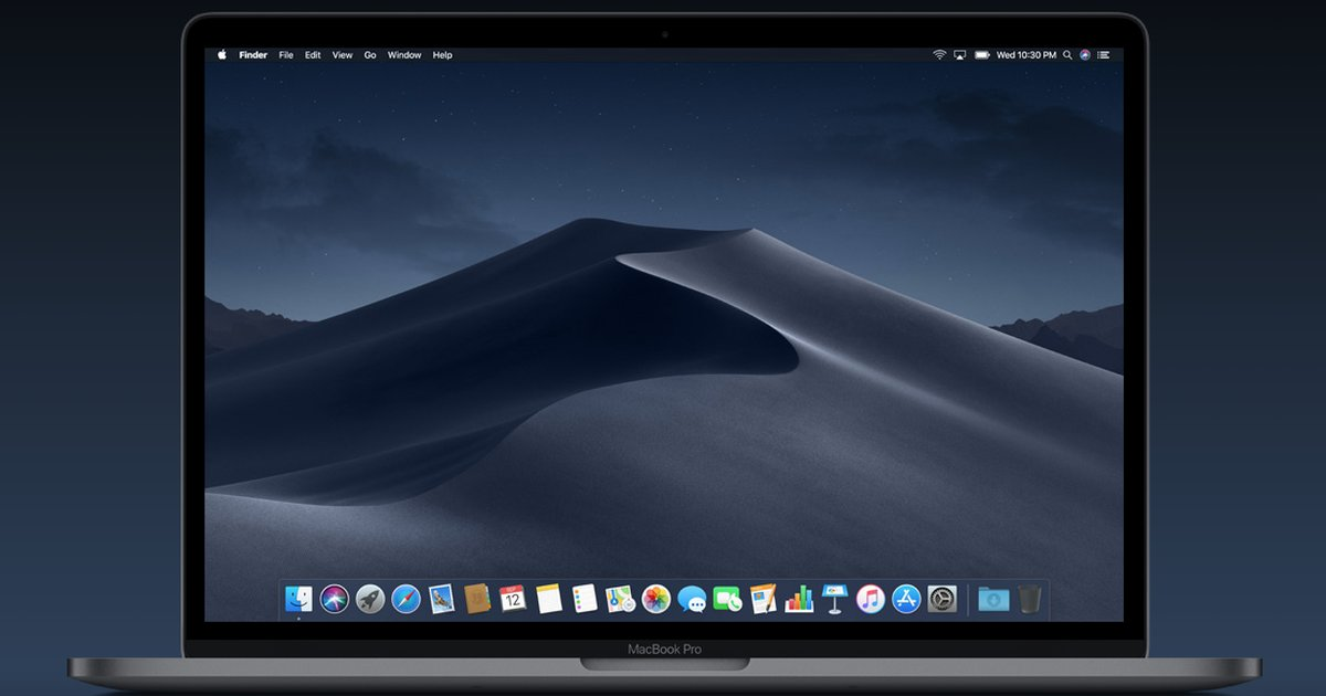 This app solves the most annoying thing about Mojave's Dark Mode https://t.co/aVS6tjmsCR