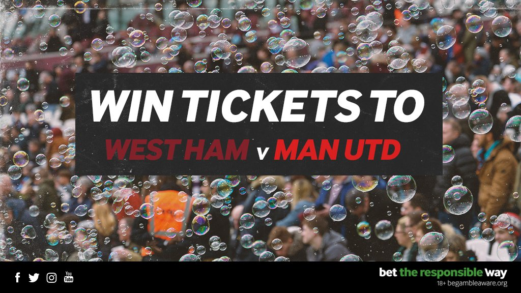 We have a pair of tickets to giveaway for West Ham v Man Utd this weekend! 🎫 For a chance to win, simply tell us how many times the sides have met at the London Stadium. Well announce the winner at 12pm tomorrow. Good luck! 🤞