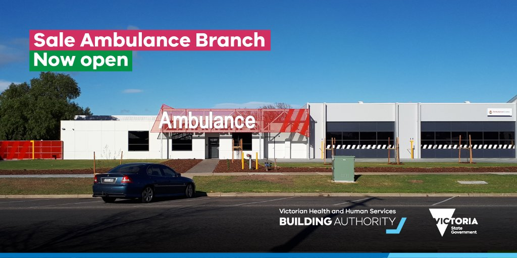 Vic Health and Human Services Building Authority on Twitter