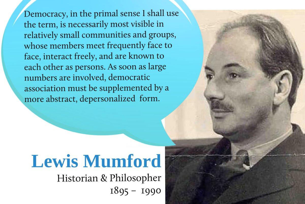 Lewis Mumford Quote / Lewis Mumford Quotes Quotehd : Ideas