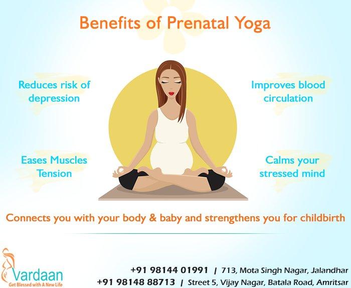 Vardaan Ivf On Twitter Doing Prenatal Yoga Is Beneficial During Pregnancy Vardaan Ivfcentre Pregnancy Prenatalyoga Benefits