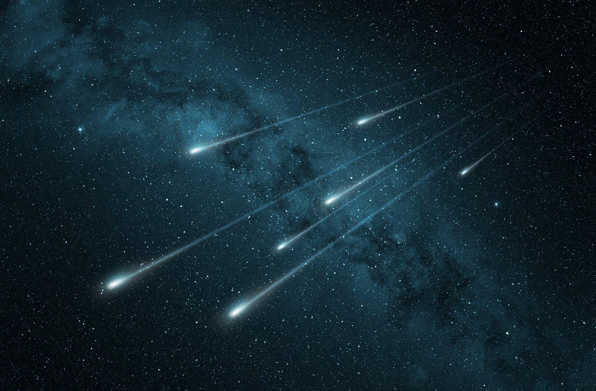кого-то метеоры в космосе картинки куб