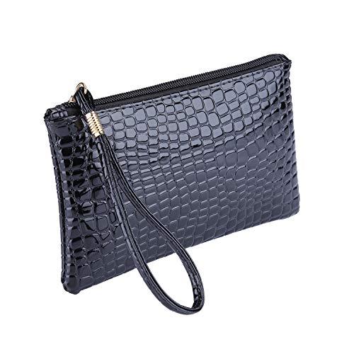 Rhinestone Frosted Bag Pleated Envelope Clutch Shoulder Evening Handbag Purse