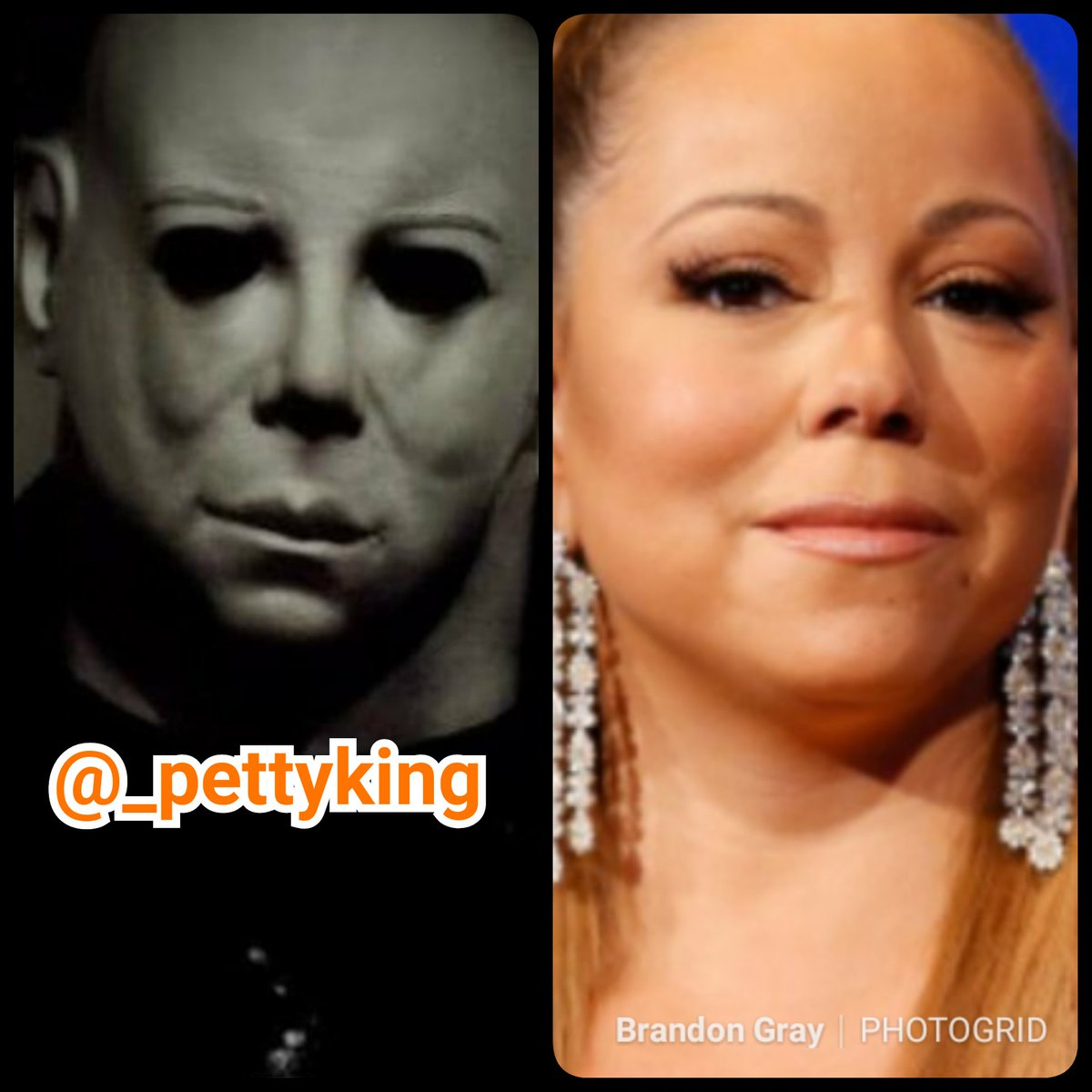 Petty King On Twitter I Know Yall Excited Bout Halloween But Can Yall Please Stop Saying Michael Myers Look Like Mariah Carey Gtfo Mariahcarey Amas Gtfo Michaelmyersmonday Michaelmyers Halloweenmovie Halloween2018 Withyou
