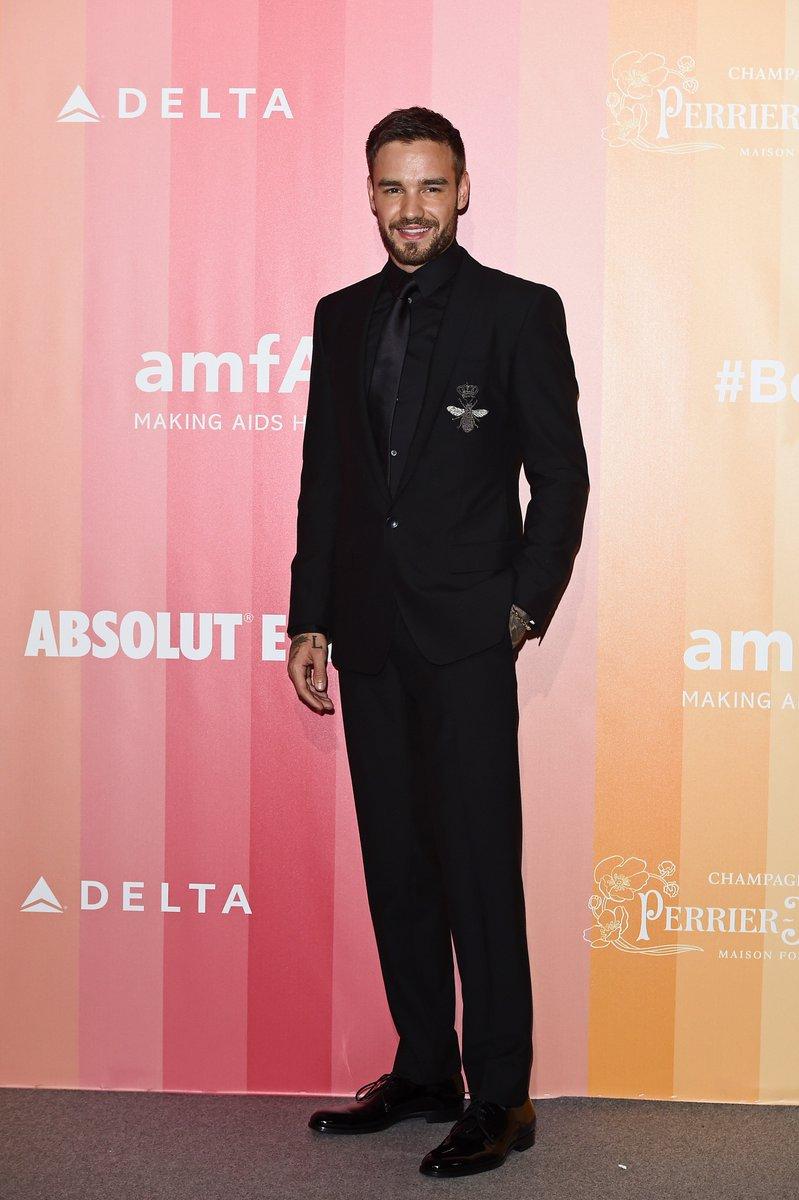 Liam Payne wearing Dolce&Gabbana at the amfAR Gala on September 22nd, 2018 in Milan, Italy. #DGCelebs #DGMen