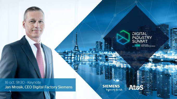 Meet @JanMrosik, @Siemens Digital Factory CEO opening the #DigitalIndustrySummit in Paris...