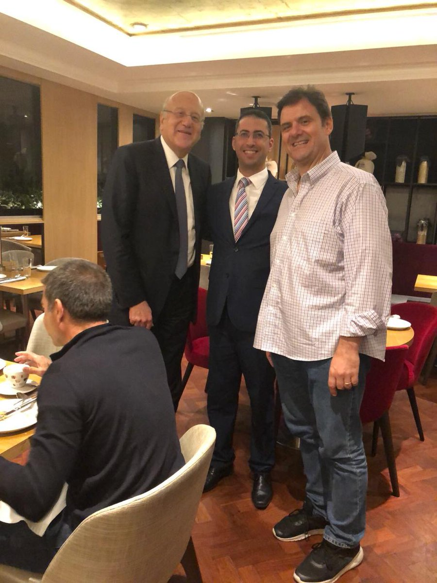Abd El Wahab UK On Twitter It Was Our Great Honour To Recently Welcome Former Prime Minister Of Lebanon Najib Mikati Into London
