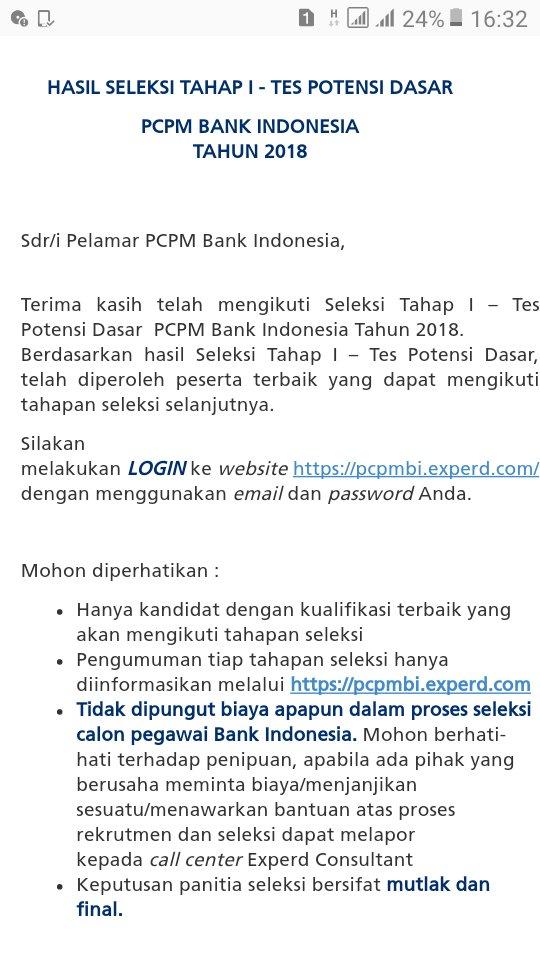 Tes Potensi Dasar Bank Indonesia Ilmusosial Id