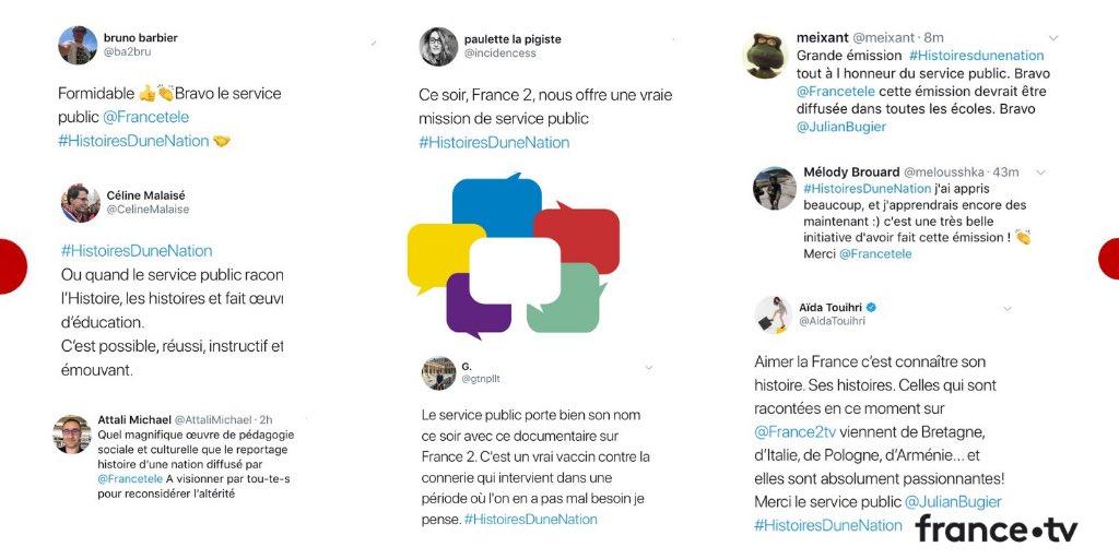 France Televisions On Twitter Vous Avez Ete Nombreux A Saluer