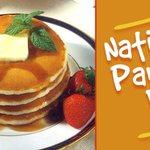 #NationalPancakeDay Twitter Photo