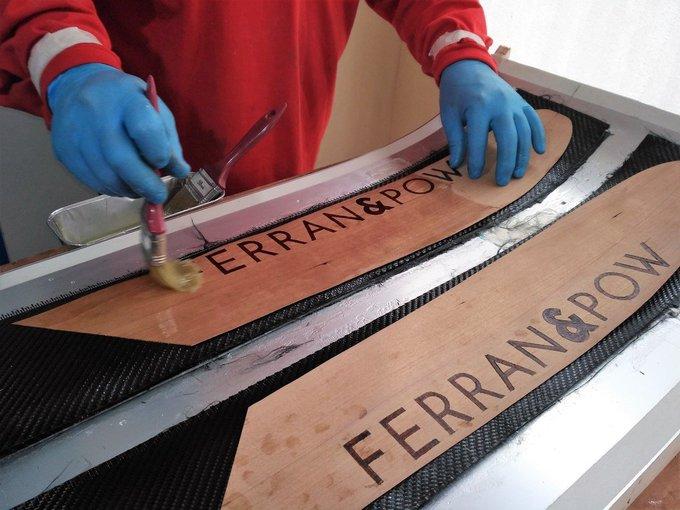 Impresionante nuestro @FerranFreixanet, pedazo de pepinos se ha hecho el tío, puro #DIY alpino 😜➡️https://t.co/LwpQ9Foiwi