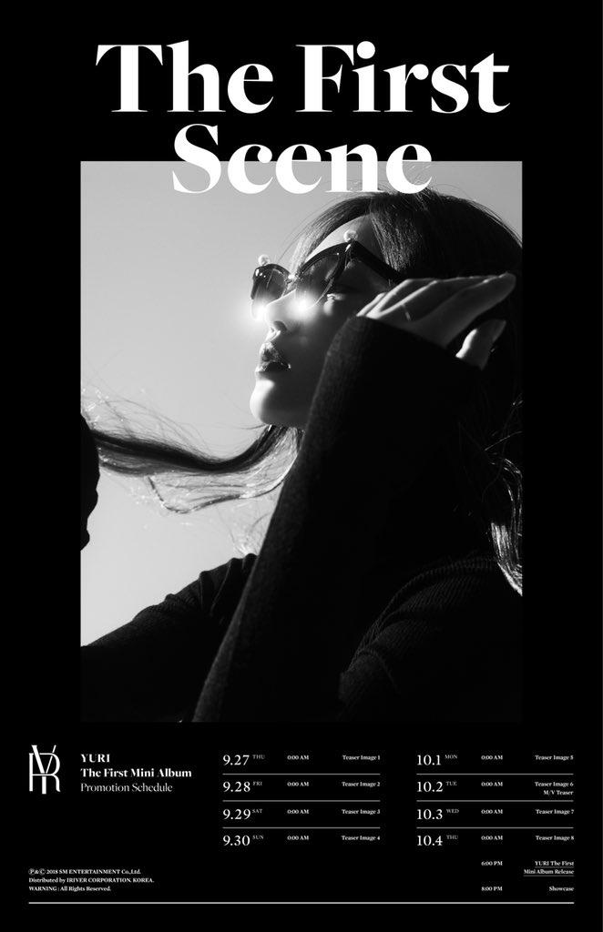 유리 The First Mini Album 'The First Scene'  🎧2018.10.04. 6PM (KST)  👉https://t.co/zpyGpcpagl  #유리 #YURI #소녀시대 #GirlsGeneration  #TheFirstScene