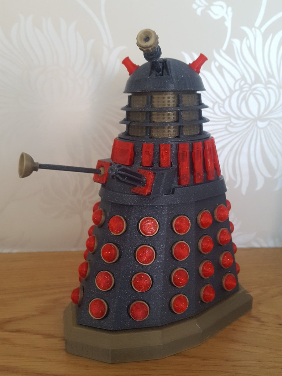 So ehm I suppose Exterminate!? #3dPrinting ...