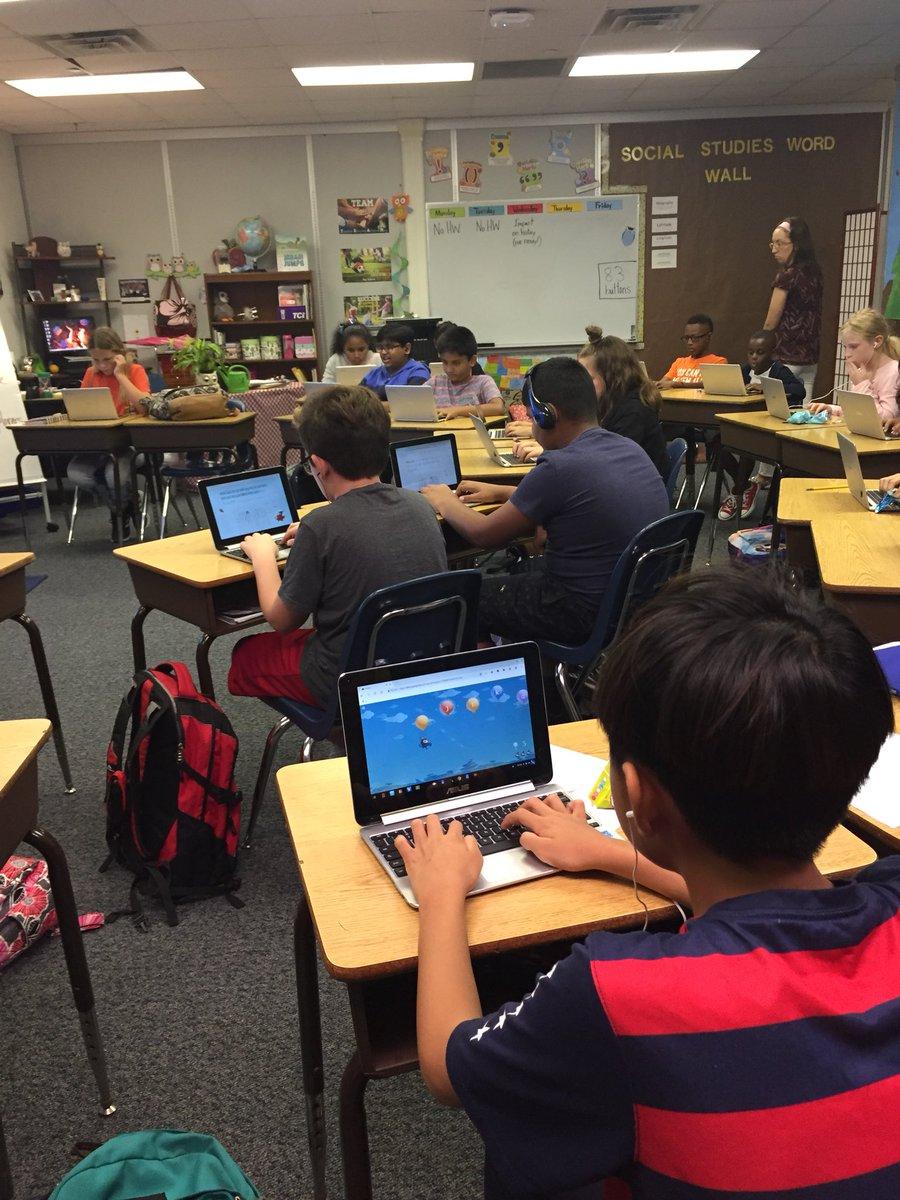 Typing Club is underway at Kent Elementary! @KentCardinals @typingclub @cfbisd @CFBDLS