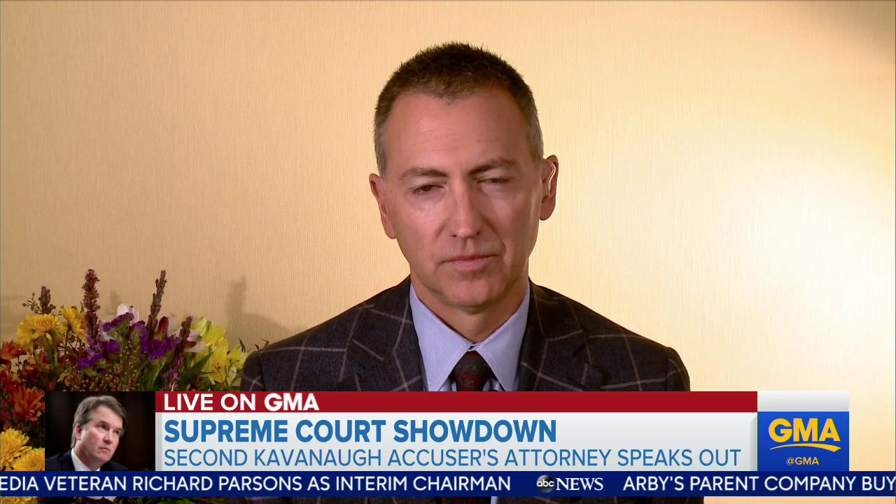 FULL INTERVIEW: Brett Kavanaugh accuser's attorney speaks about the allegations. https://t.co/zB0WGqnfOV https://t.co/kZGKRVkeyg