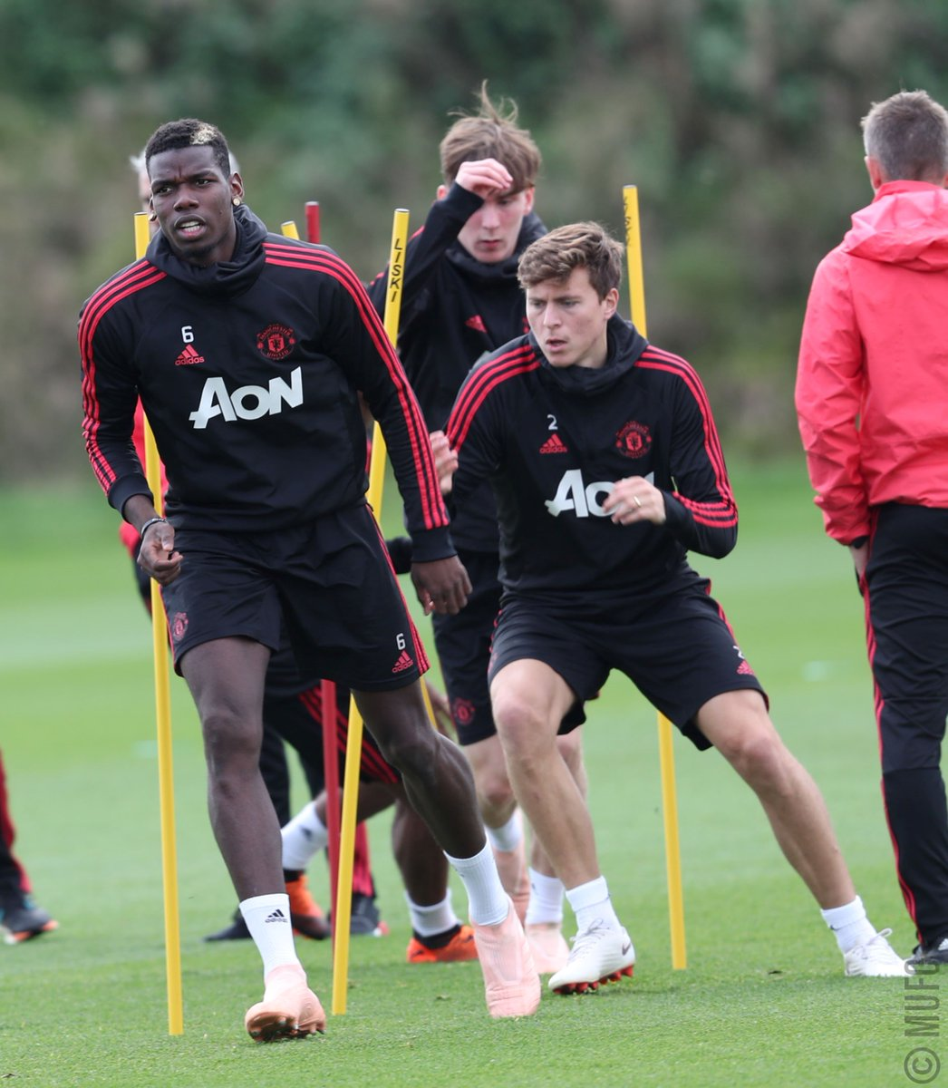 Getting ready for Saturday. #MUFC