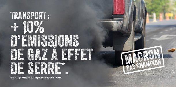 Champion de la Terr @EmmanuelMacrone ?  ▶️Abandon des petites lignes et du fret ferroviaire ▶️Des efforts pour soutenir le vélo /en finir avec les vieux diesel qui pèsent peu face aux investissements massifs en faveur des nvx projets routiers ⤵️