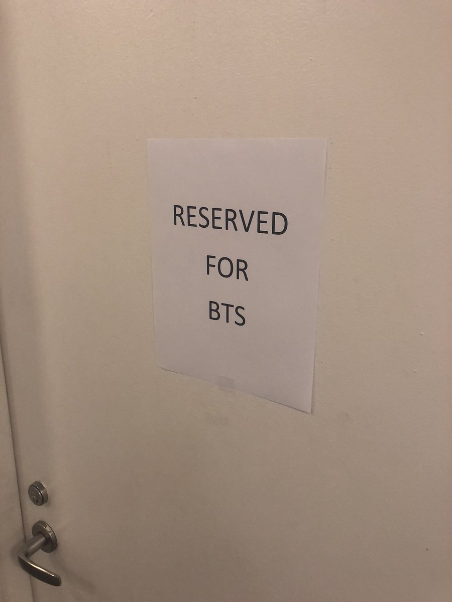 Behind this door ... #BTSonGMA @bts_bighit @GMA https://t.co/XfqlK6Flou