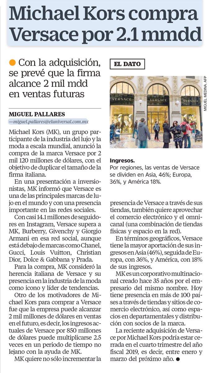 cf8401c1912ee6 La nueva dueña de Versace #FelizMiércoles  http://www.eluniversal.com.mx/cartera/negocios/quien-es-michael-kors-la-nueva-duena-de-versace  …pic.twitter.com/ ...