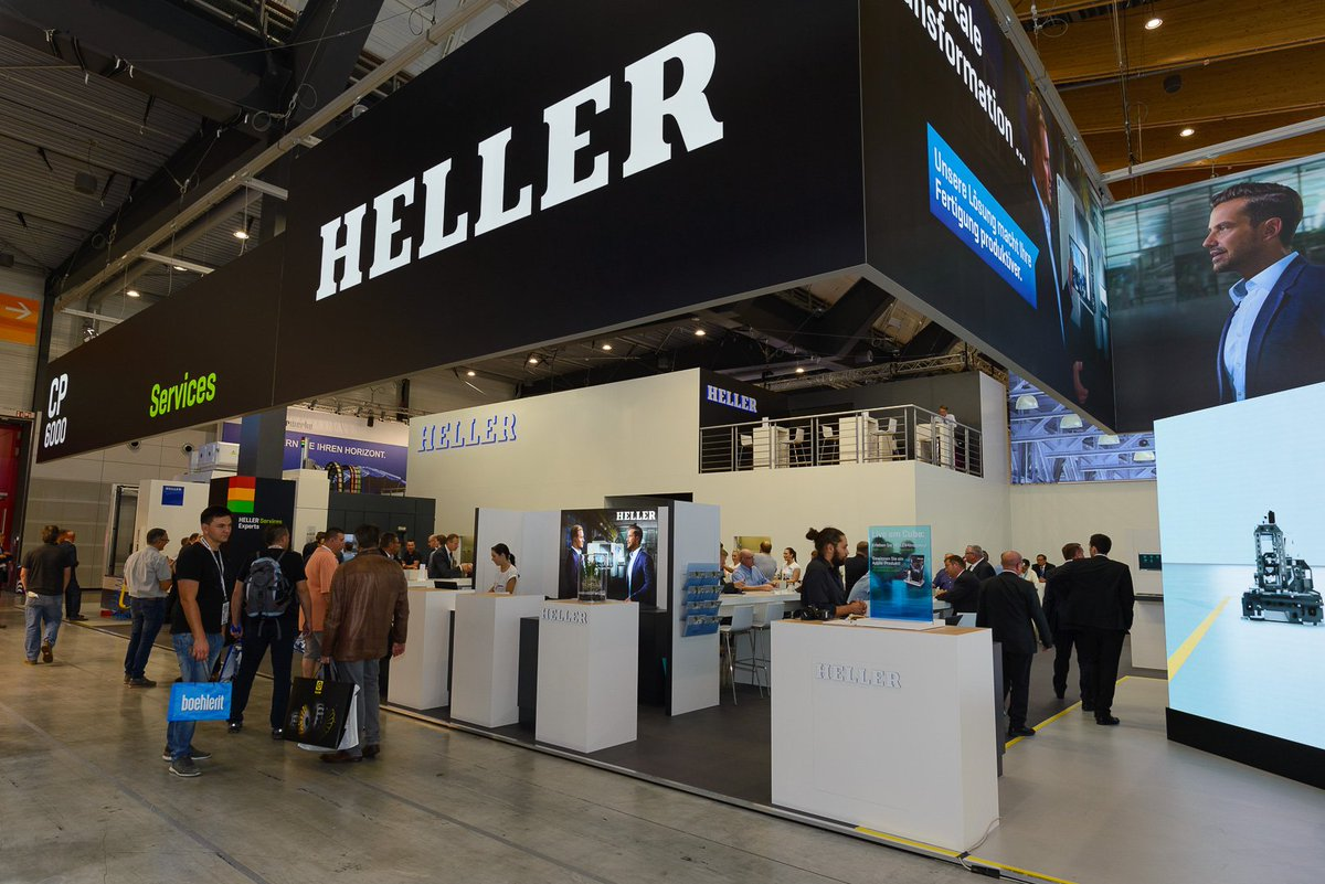 Heller Machine Tools On Twitter Many Thanks For Visiting Us