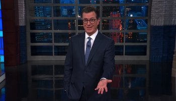 Stephen Colbert brilliantly breaks down Trump's laugh-filled UN appearance https://t.co/zJVziOPSDA