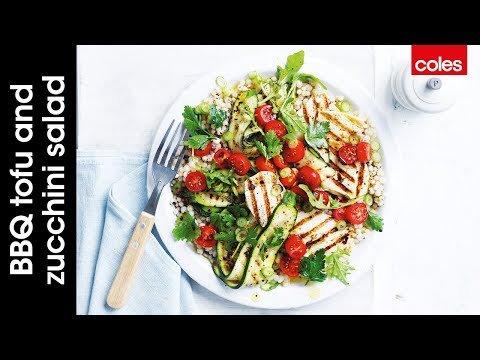BBQ vegan tofu and zucchini salad https://t.co/tLcABnEDzW https://t.co/RqrEx3mXx4