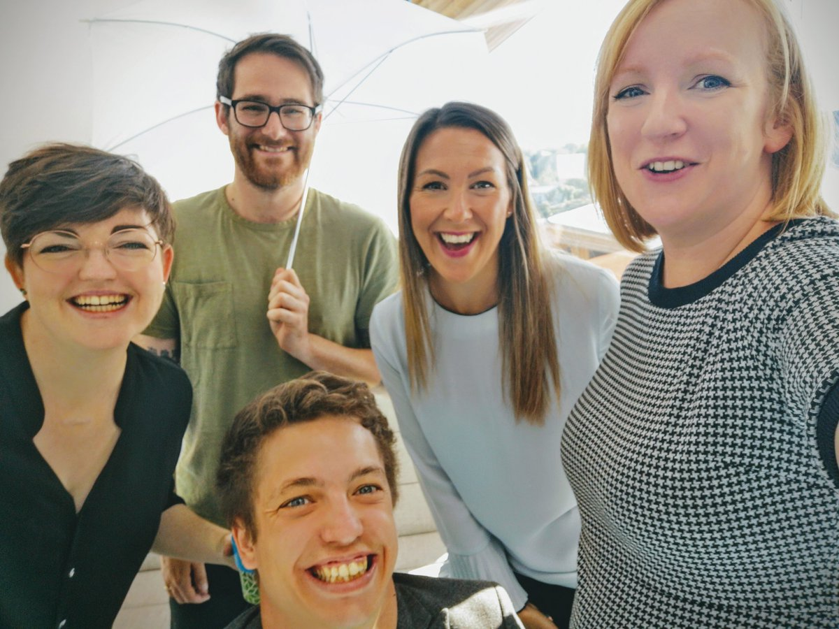 Had such a fun day running various photo shoots with these guys @Em_Webber @Tea_and_Data @bexbec56 @stephansalt #teamselfie