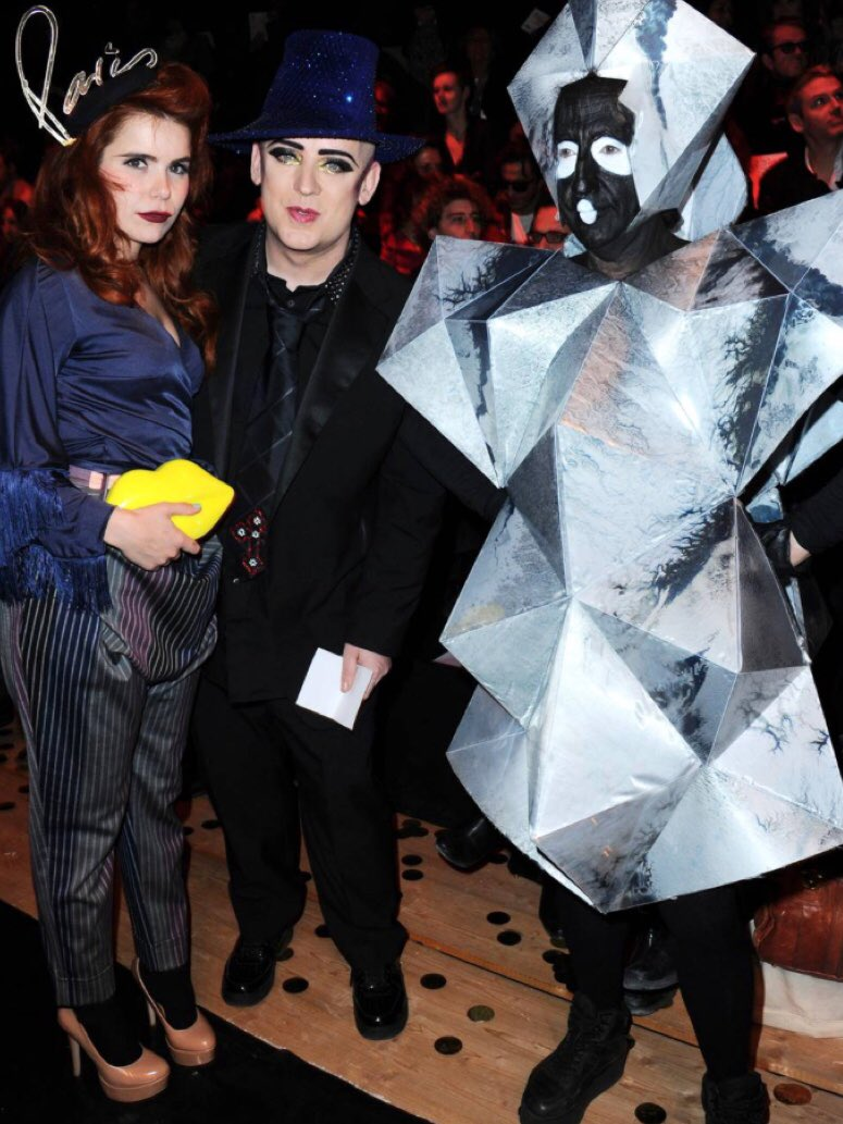 """boy george on twitter: """"that's philip salon. no idea who those other"""