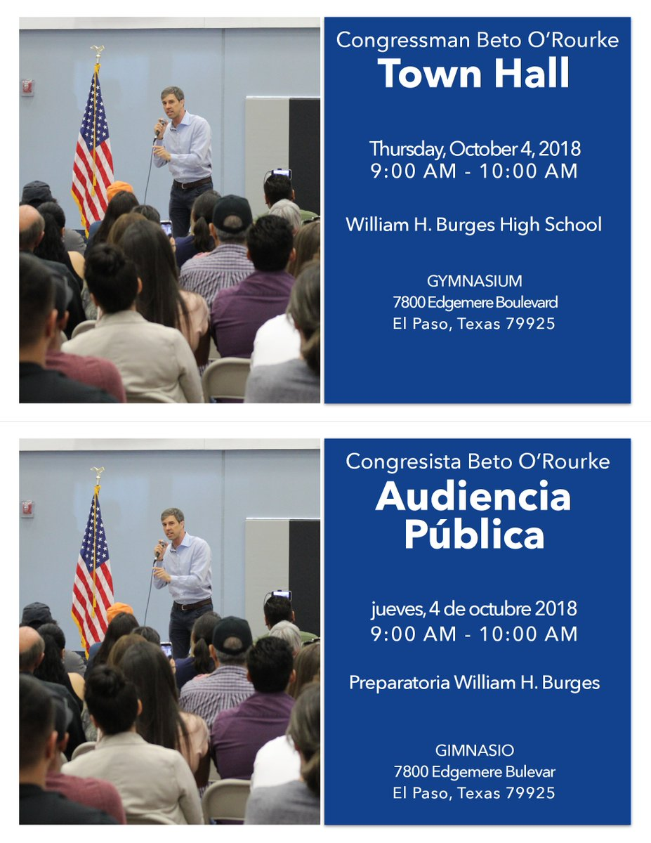 Next Thursday, we're holding our 101st town hall. Looking forward to another great conversation. Click here for complete details and let us know if you can make it:  https://www.facebook.com/events/285239108976326/…