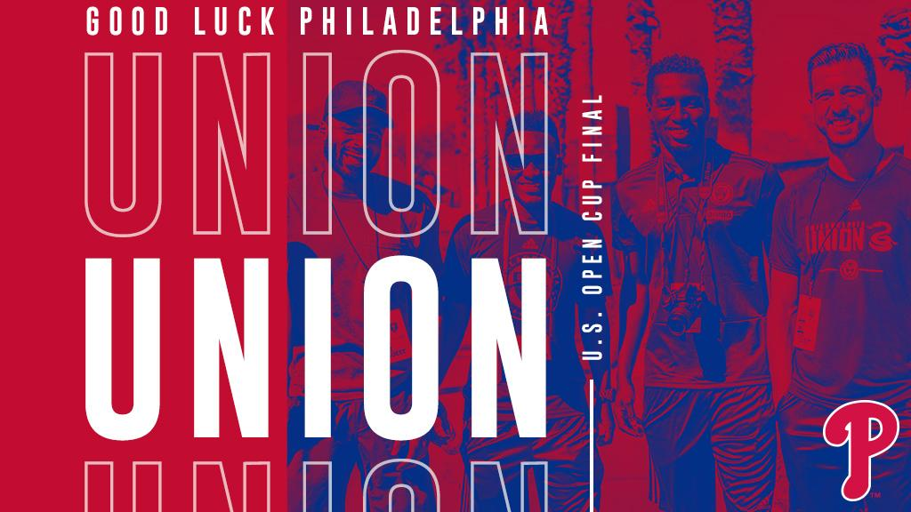 Good luck to the @PhilaUnion in the @opencup Final tonight! ️⚽️��  #USOC2018 | #DOOP https://t.co/srL2J8JLQd