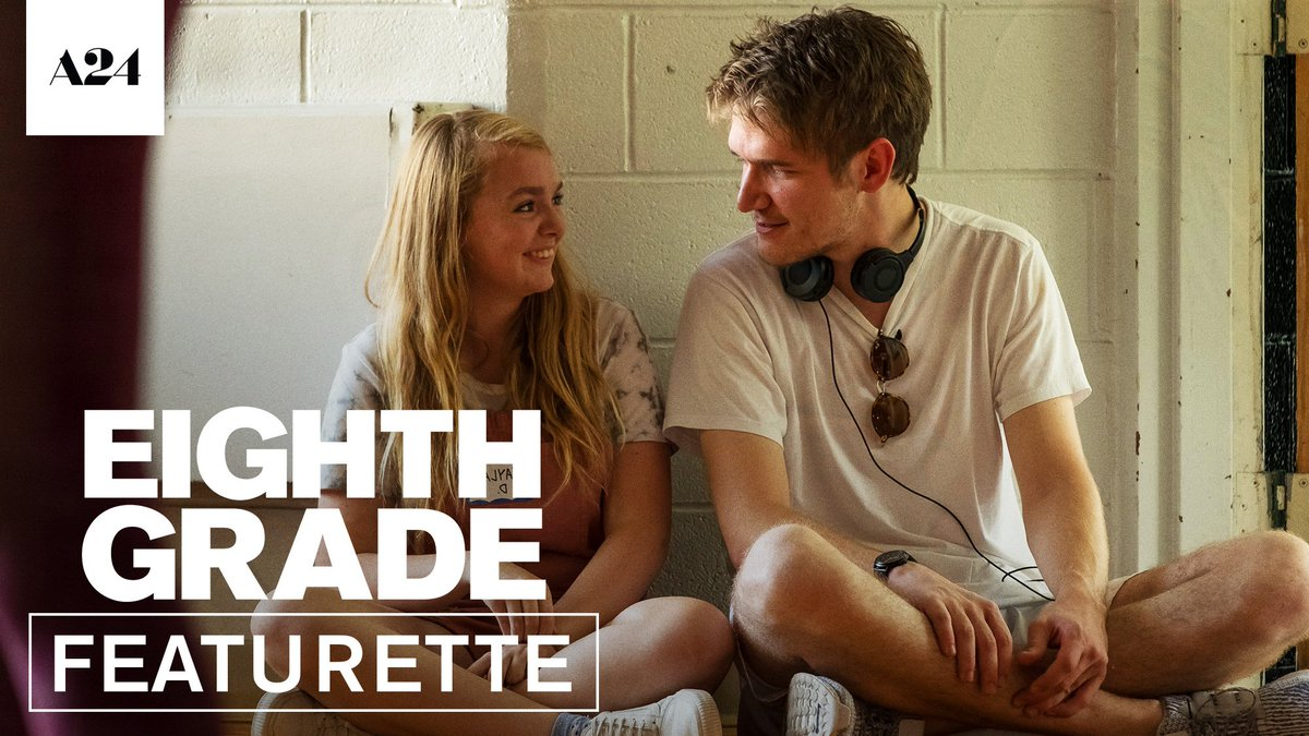 "Watch a new behind-the-scenes featurette with director @BoBurnham on filming ""the most honest teen movie ever."" (@NYLON) #EighthGrade"