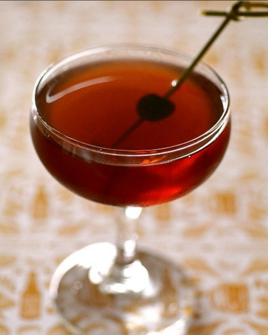 A Manhattan a day keeps the doctor away... that's how the saying goes right?