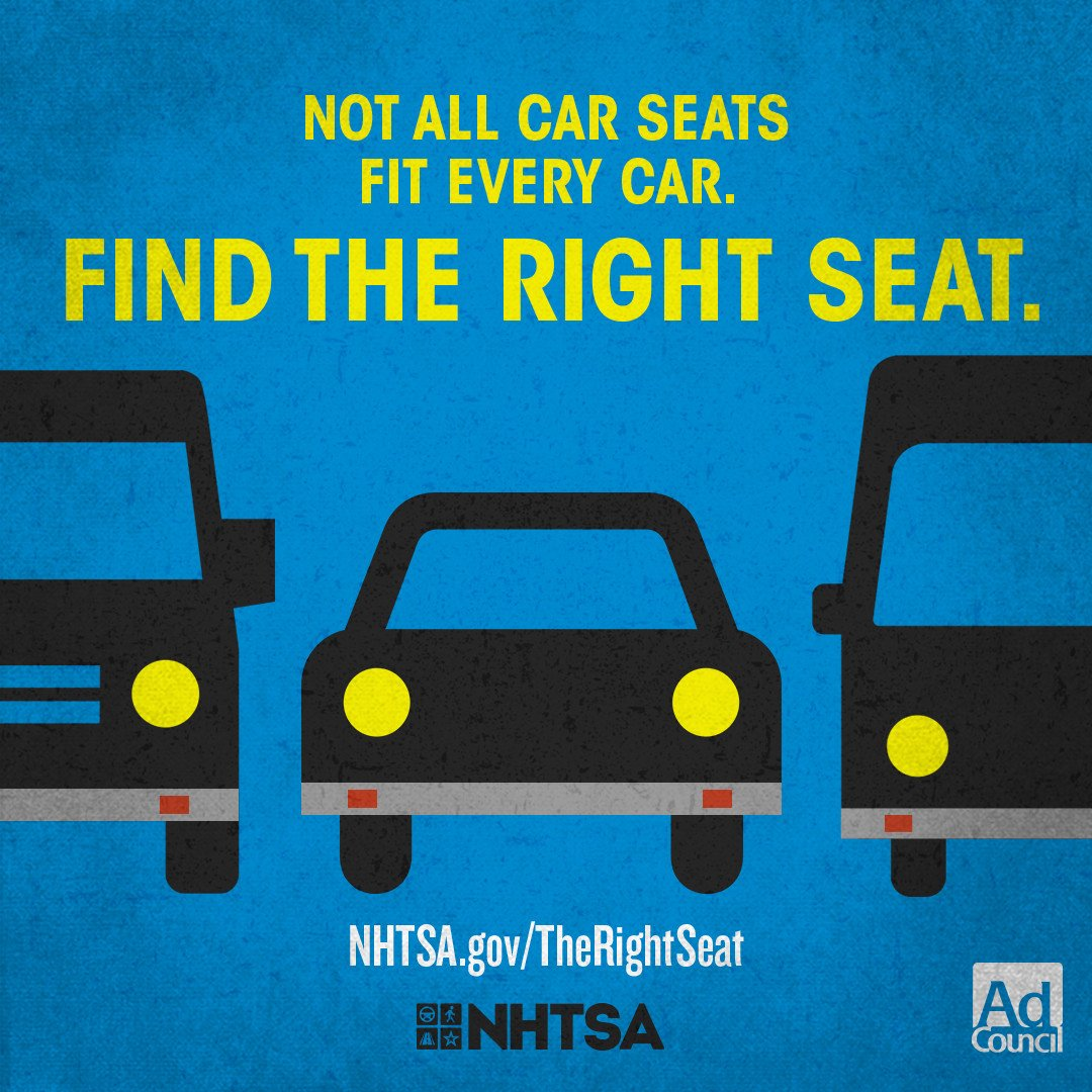 Tennessee Highway Safety Office On Twitter Not All Car Seats Fit Every Find TheRightSeat