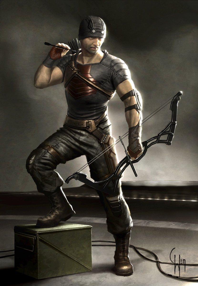 Hawkeye Concept Art