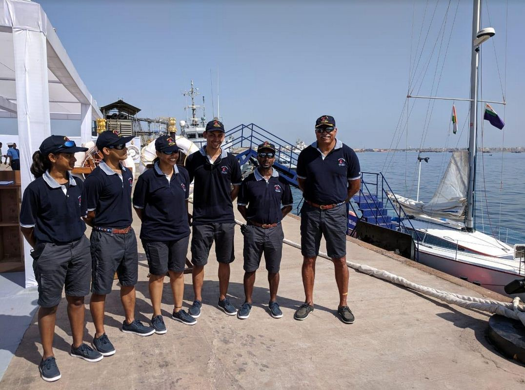 Porbandar – Mangalore sailing expedition of Western Naval command flagged off
