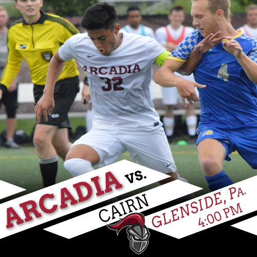 GAME DAY! @Arcadia_MSOC takes on Cairn at 4 p.m.!   Stats: https://buff.ly/2NVyhSi  Video: https://buff.ly/2N46hqM