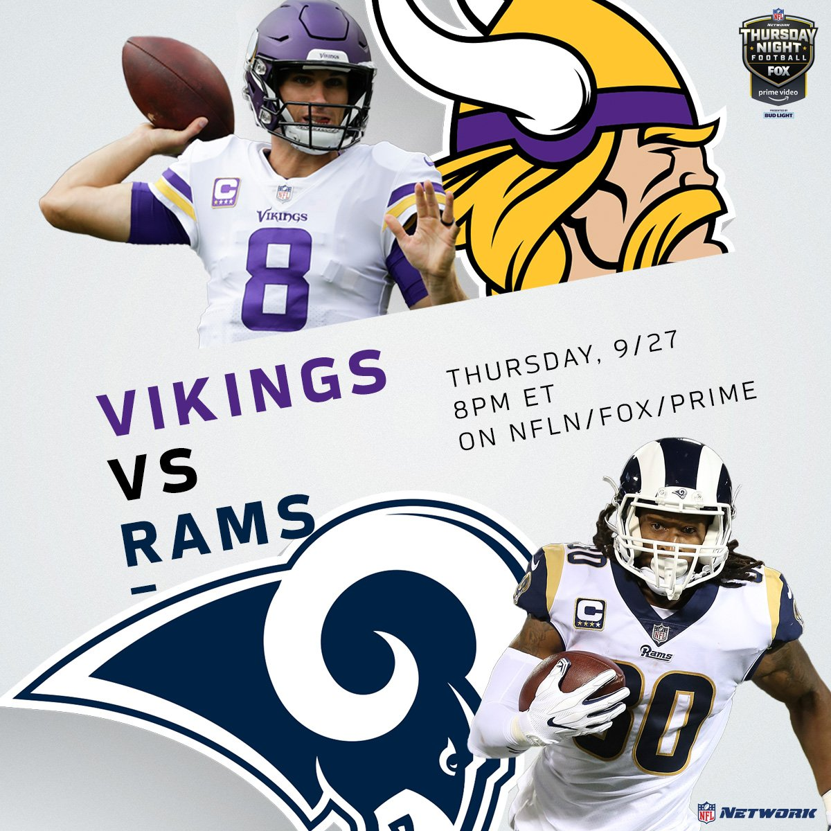 Image result for vikings vs rams 2018