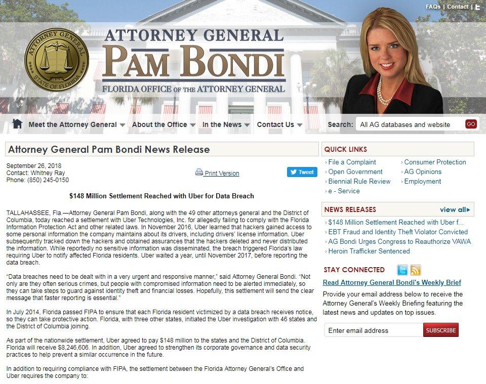Fla  AG Pam Bondi on Twitter: