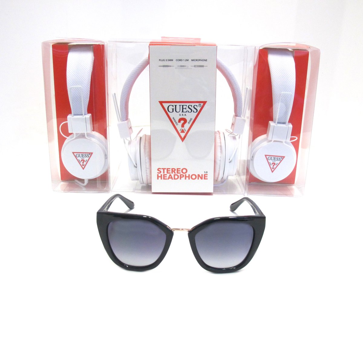 eb80acc525 ... Plus FREE GUESS Headphones with every pair of GUESS Sunglasses until  27.09.2018