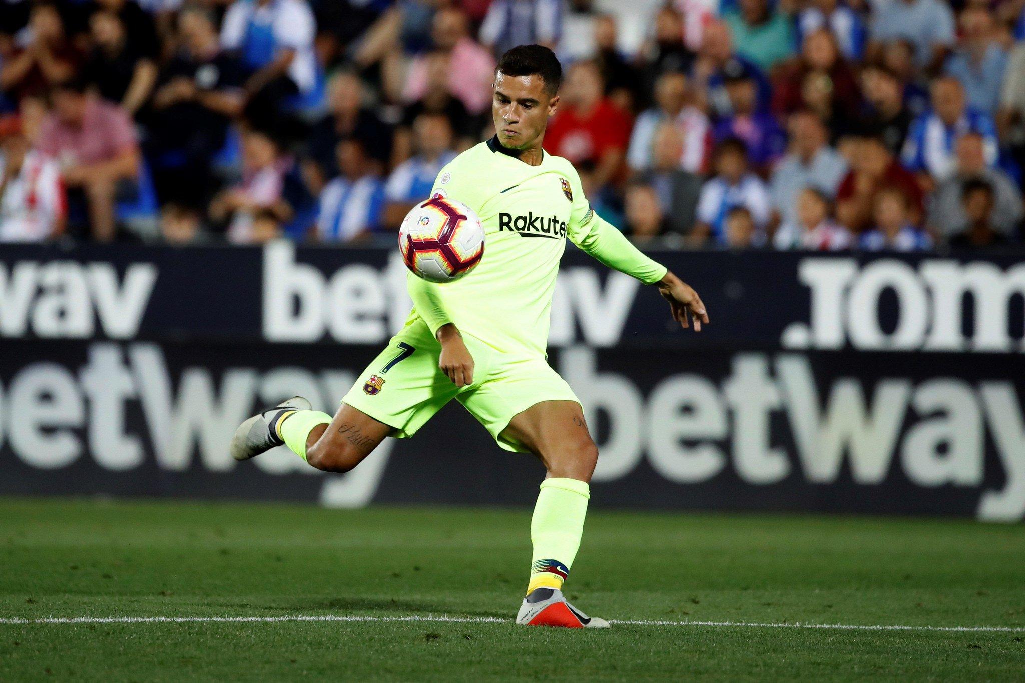 صور مباراة : ليغانيس - برشلونة 2-1 ( 26-09-2018 ) DoCl7YzXgAUTKjJ