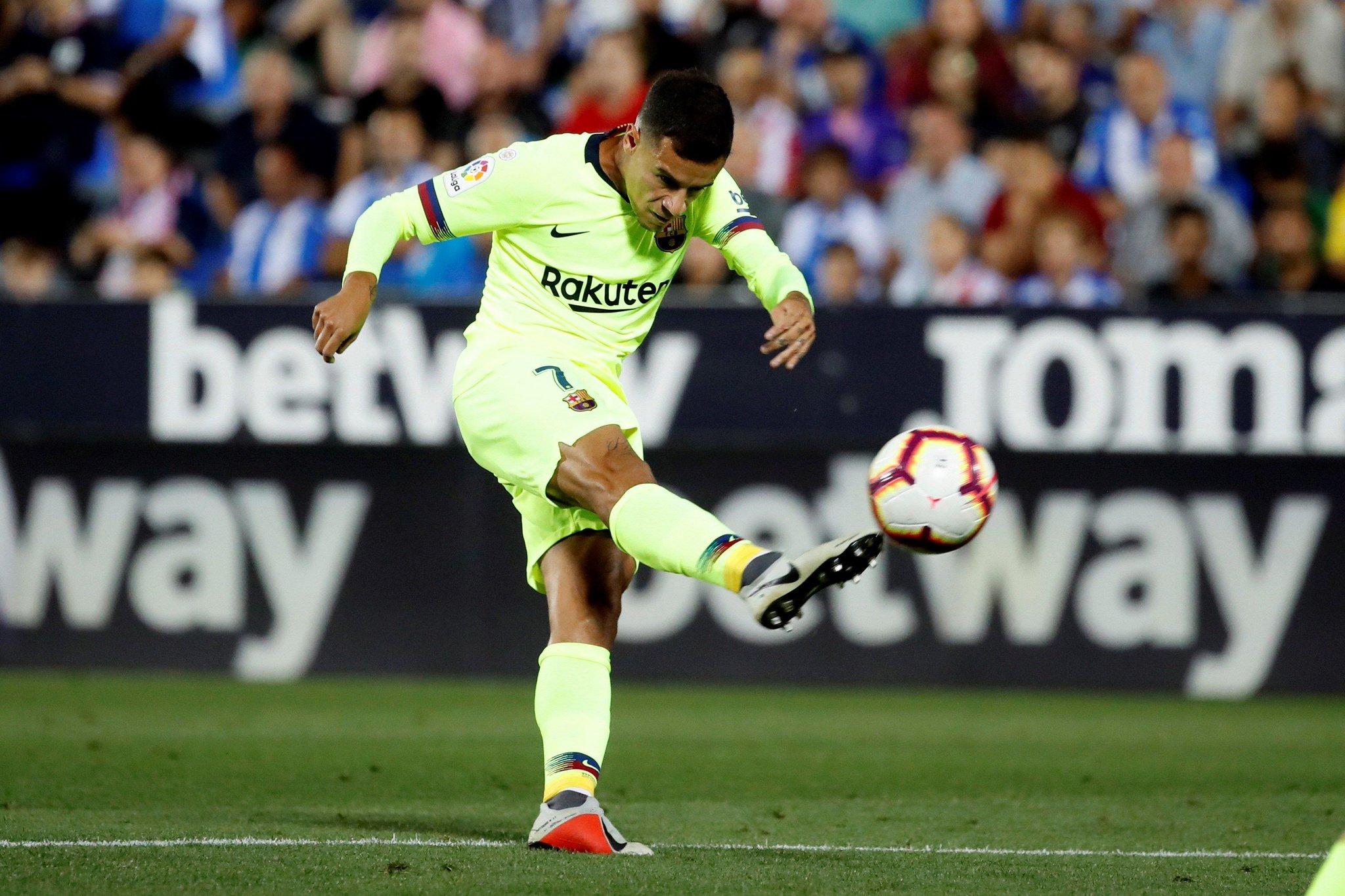 صور مباراة : ليغانيس - برشلونة 2-1 ( 26-09-2018 ) DoCl8p0XgAAxluN