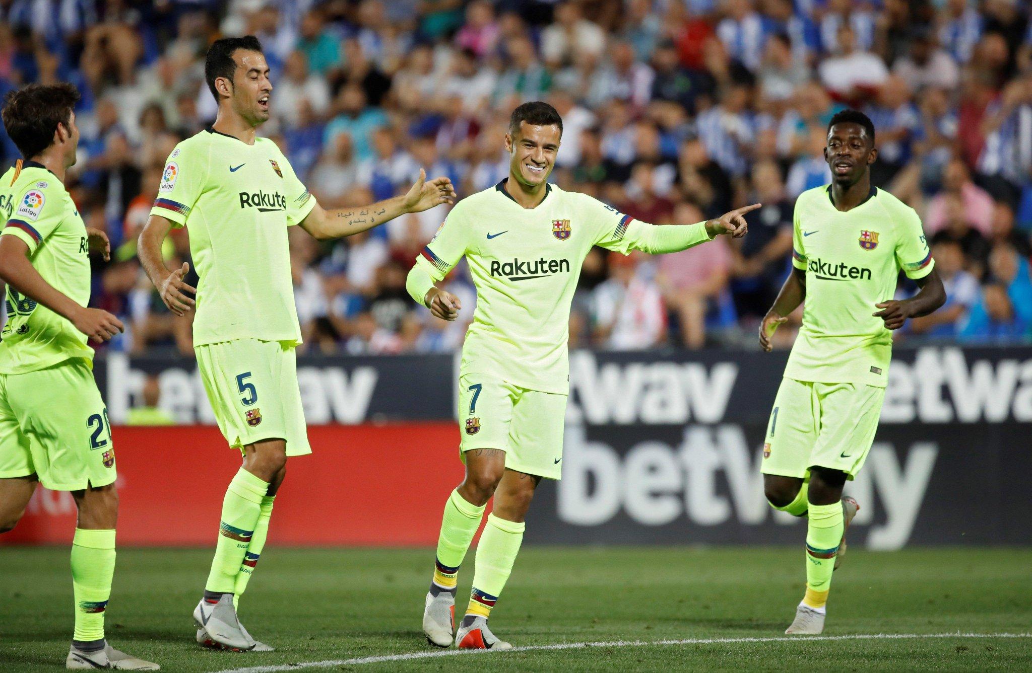 صور مباراة : ليغانيس - برشلونة 2-1 ( 26-09-2018 ) DoCr3lAXgAAPdu6