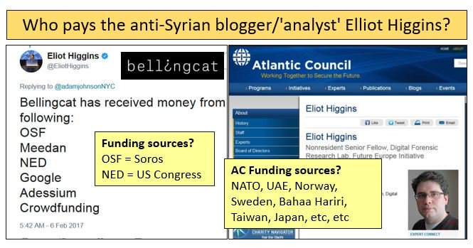 Afbeeldingsresultaat voor bellingcat sponsored by NATO and EU