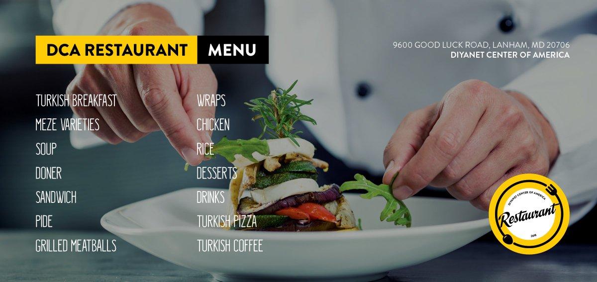 Diyanet America On Twitter The Diyanetamerica Restaurant