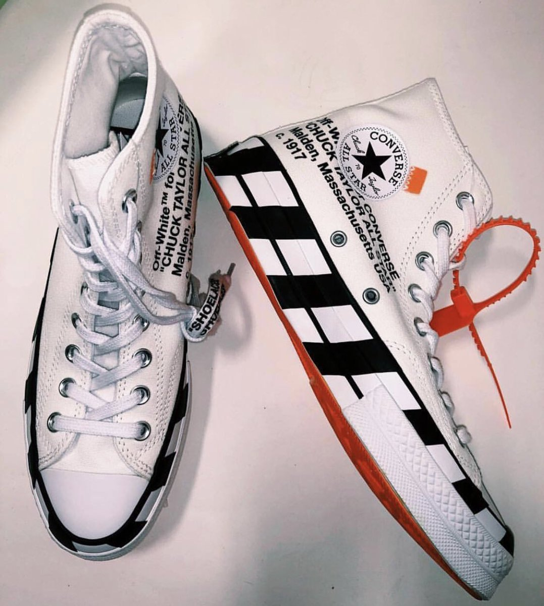 f4704e7aa321 First look at the Off-White x Converse Chuck 70 'Stripe' rumored for October  8th Info and pics via @SoleCollectorpic.twitter.com/Dt1GgPEUzF