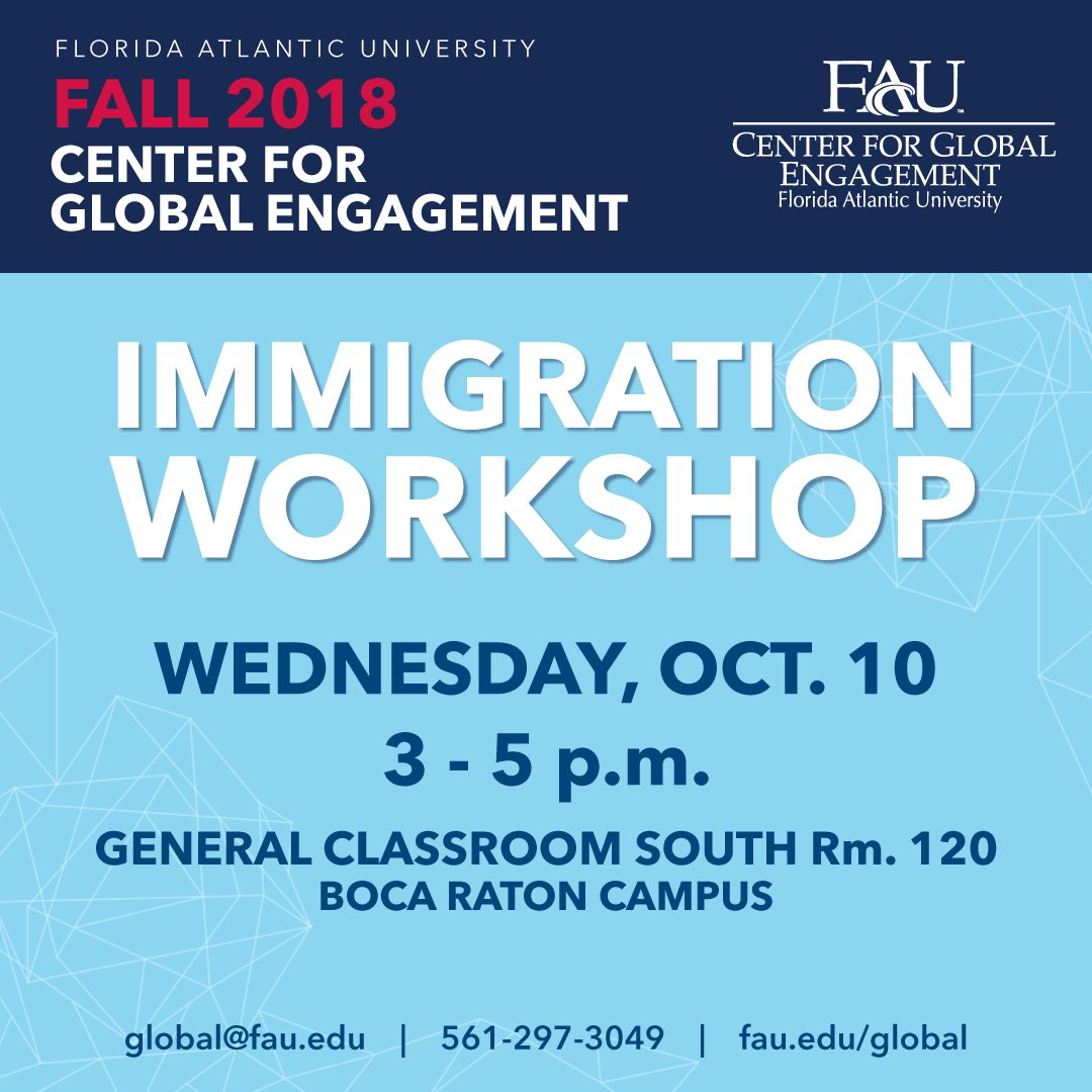 International Friends Progam (IFP) at FAU - @FAU_IFP Twitter