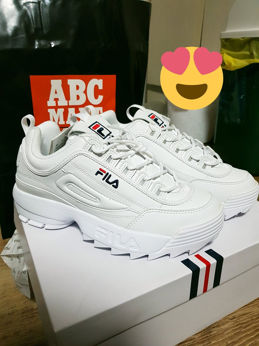Jungkook's Fila sneakers